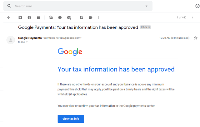 How To Fill Manage Tax Info In Google AdSense | Withholding Tax, W-8BEN Form, US Tax Treaty 19