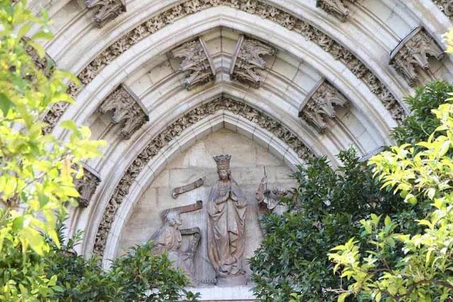 Resultado de imagen de puerta LA CONCEPCION catedral de sevilla