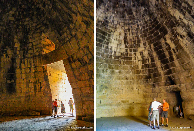 Micenas: o Tesouro de Atreu (tumba real)