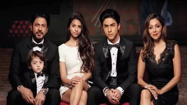 Aryan Khan family photo with Shah Rukh Khan and Gauri Khan