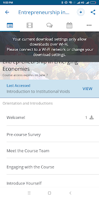 Edx video downloading on mi phone