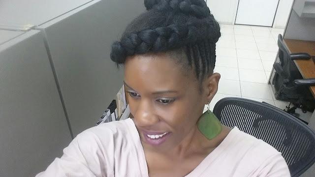 Recogido afro