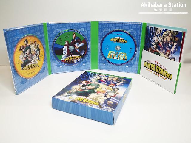 Review de la Edición Coleccionista en Blu-Ray de My Hero Academia: Dos héroes - Selecta Visión