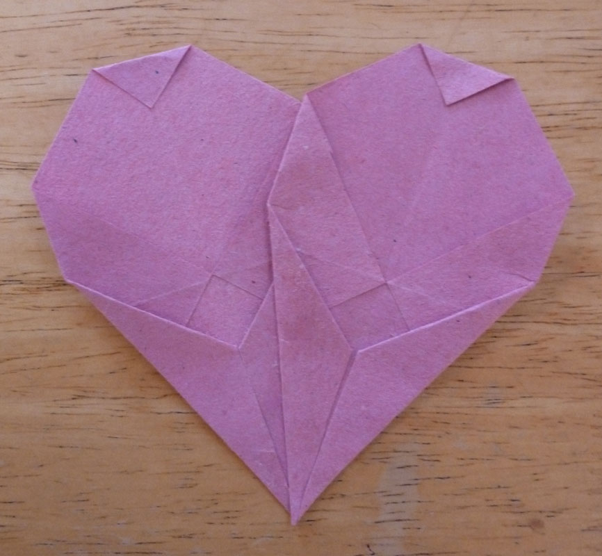 The Enchanted Tree: Tissue Paper Hearts