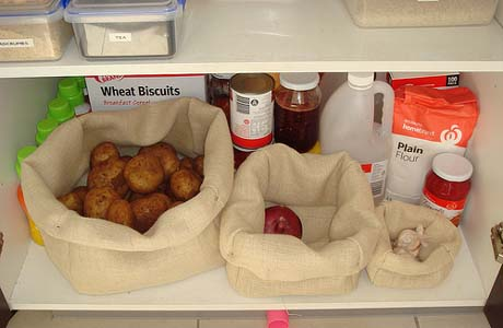 Tips Menyimpan Bahan Makanan Di Dapur