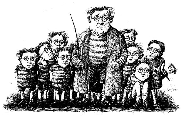 Der Schulmeister und seine Schüler