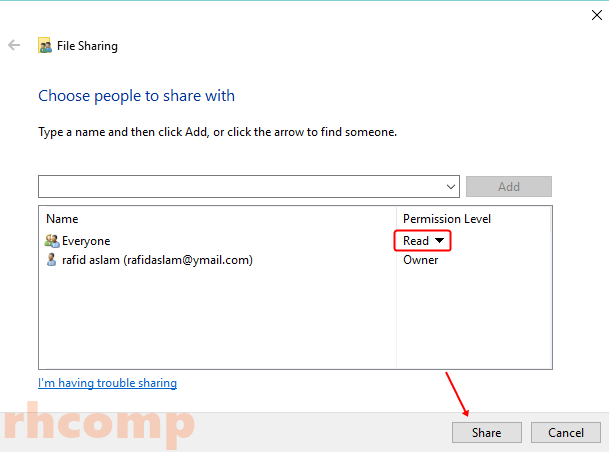 Cara Menshare Folder ke Jaringan LAN di Windows