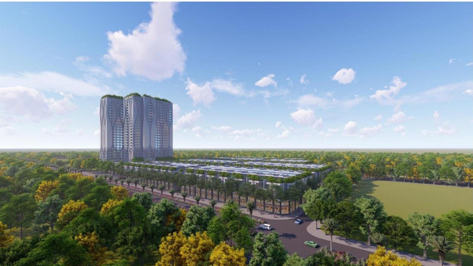 Dự án Shophouse Apec Diamond Park Lạng Sơn