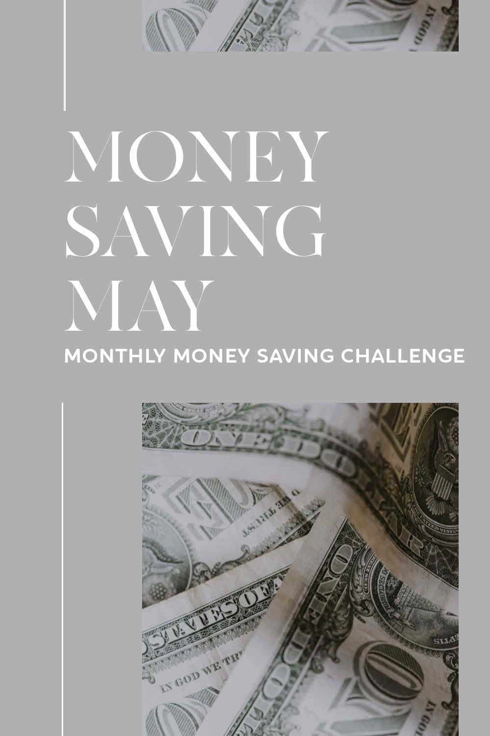 money saving may monthly challenge
