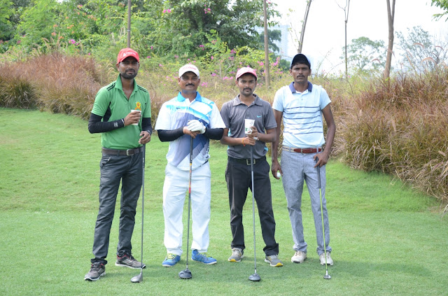 Caddies on DLF5 Golf Course