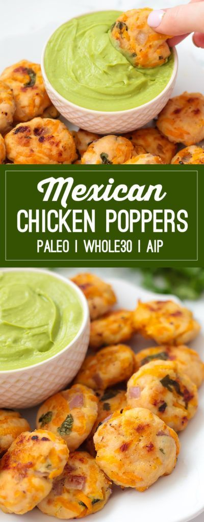 mexican chicken poppers (paleo, whole30, aip)