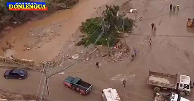 8 personas arrastradas por un río en Los Teques podrían estar ya en Caracas