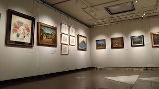 椿貞雄と清川コレクション展 展示風景