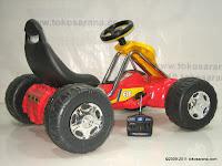 4 Mobil Mainan Aki Junior TR6628 GoKart dengan Kendali Jauh 4