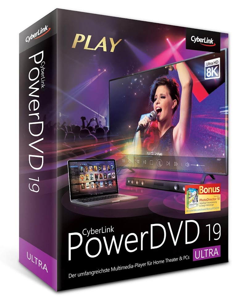 PowerDVD Ultra 19 2019 Crack e Serial Download Grátis
