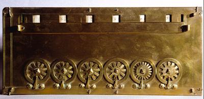 Kalkulator Mekanis Pertama (Pascaline)