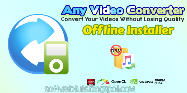 Any Video Converter Ultimate 6.2.9 Crack & Key PC Software