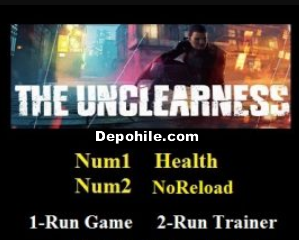 The Unclearness (PC) Oyunu Can - Sekmeme +2 Trainer Hilesi