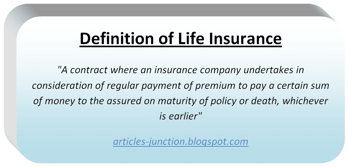 Articles Junction: Types of Life Insurance Policies Life ...