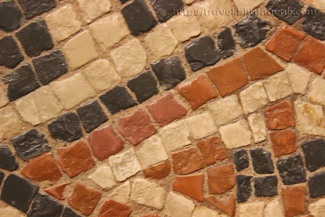 Rheinisches Landesmuseum Trier Roman Mosaics Close-up
