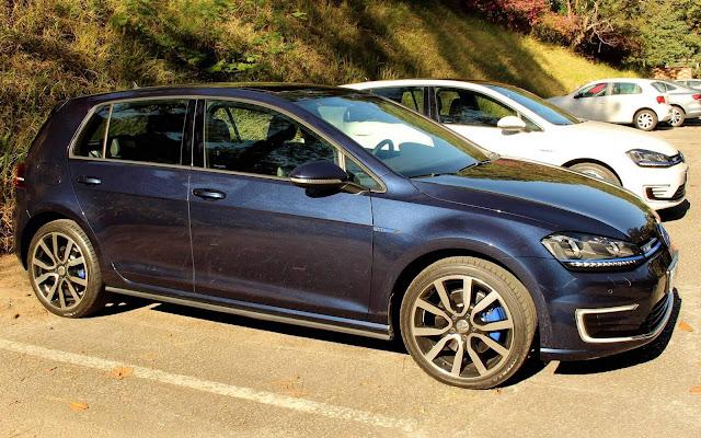 VW Golf GTE Híbrido elétrico - Brasil