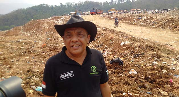 Eka Santosa: Sampah Harus Dimusnahkan bukan Dipindah Tempatkan