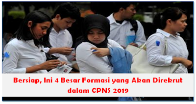 Bersiap, Ini 4 Besar Formasi yang Akan Direkrut dalam CPNS 2019