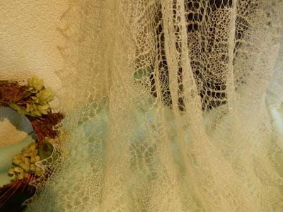 gebreide wollen bruidssjaals, ivoor, bruidsstola omslagdoeken voor bruid