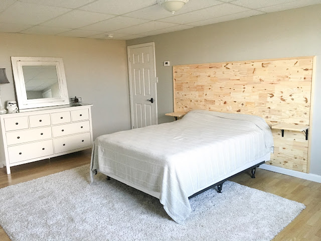 The Hobson Homestead How To Build A Headboard With Built