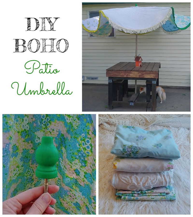 How to DIY a Patio Umbrella Cover