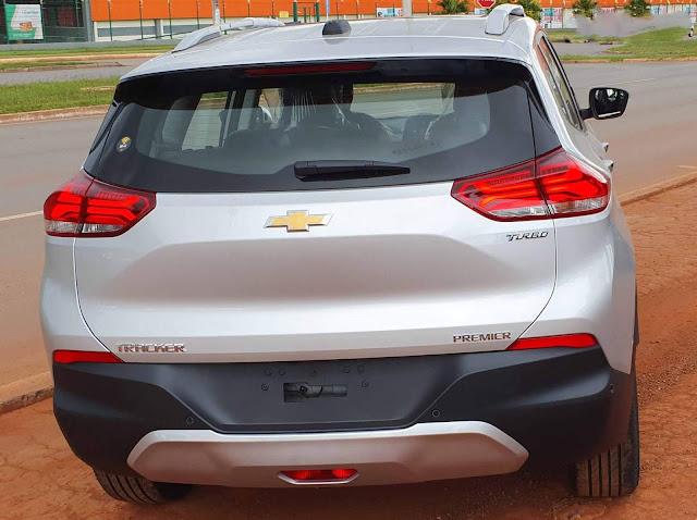 Novo Chevrolet Tracker 2021 - traseira