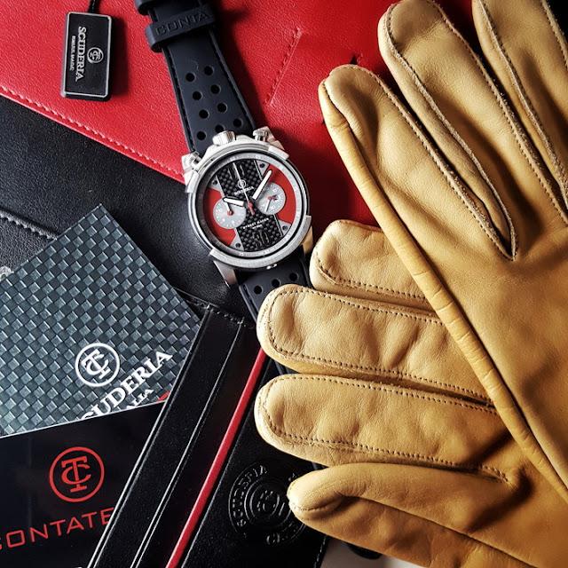 大阪 梅田 ハービスプラザ WATCH 腕時計 ウォッチ ベルト 直営 公式 CT SCUDERIA CTスクーデリア Cafe Racer カフェレーサー Triumph トライアンフ Norton ノートン フェラーリ STREET RACER ストリート レーサー CS10139