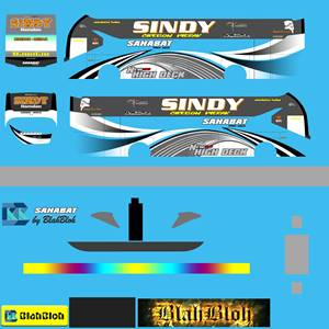 Livery Bussid Sahabat Sindy SR2 MDC