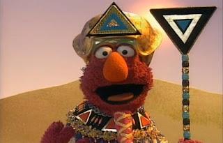 Telly Monster sings Telly Tut. Sesame Street Best of Friends