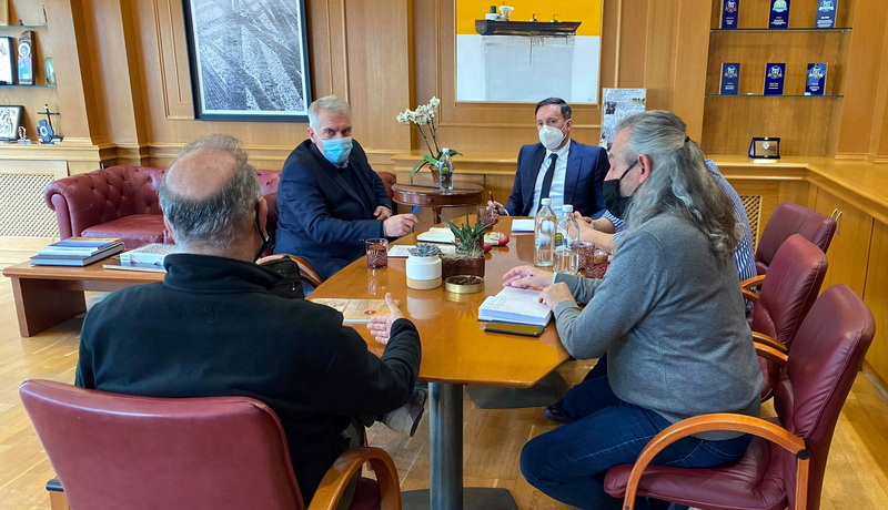 Συνάντηση του Δημάρχου Αλεξανδρούπολης με τον Πρόεδρο του ΤΕΕ Θράκης