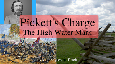 Pickett's Charge - The High Water Mark at Gettysburg