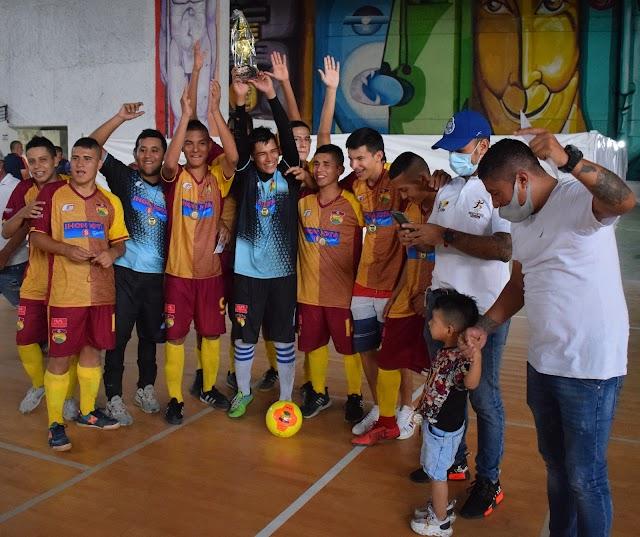 La Preselección Sub-20 Tolima, campeones en Ibagué