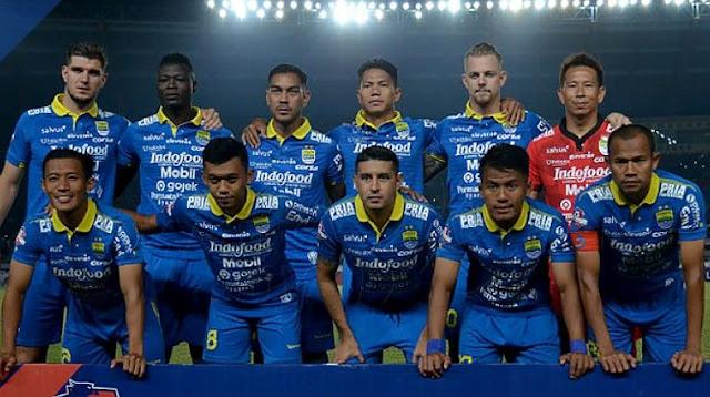 Susunan Pemain Persib Bandung Lawan Bhayangkara FC