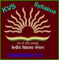 KVS Syllabus