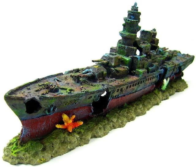 Warship-Cave-Shipwreck-Aquarium
