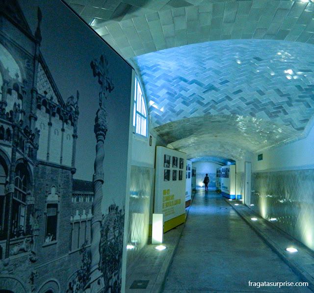 Túnel do Hospital de la Santa Creu i Sant Pau, Barcelona