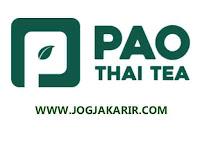 Loker Jogja Barista di PAO Thai Tea Outlet Sidokarto Godean Gaji Menarik