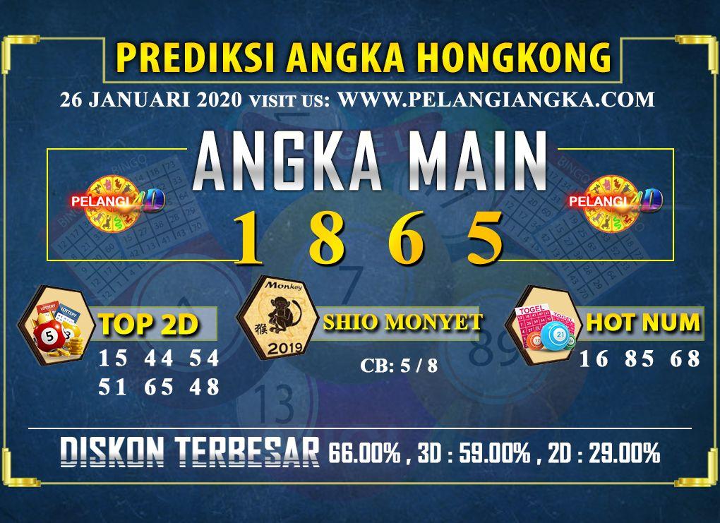 Prediksi Togel JP Hongkong 26 Februari 2020 - Prediksi Angka Hongkong