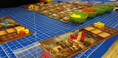Century A New World gameplay how to set up table game board