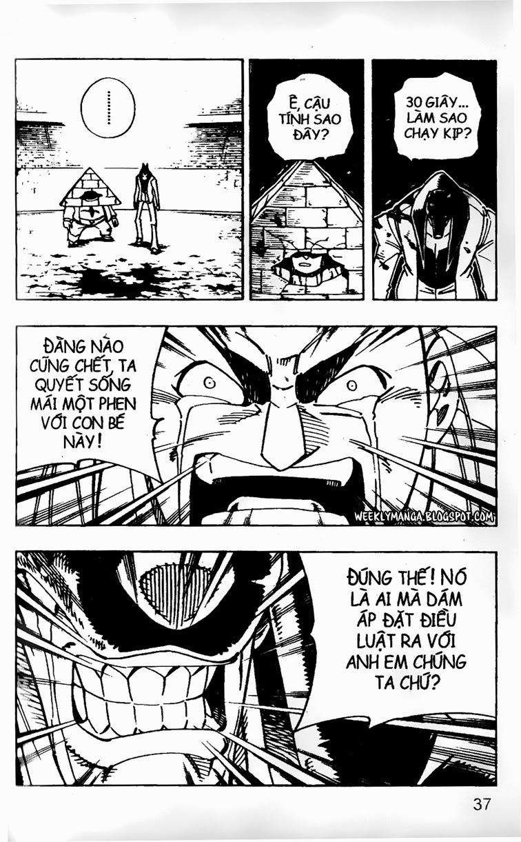 Shaman King [Vua pháp thuật] chap 125 trang 6