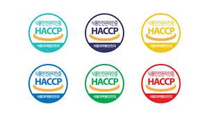 logo sticker HACCP pada beberapa makanan dari korea