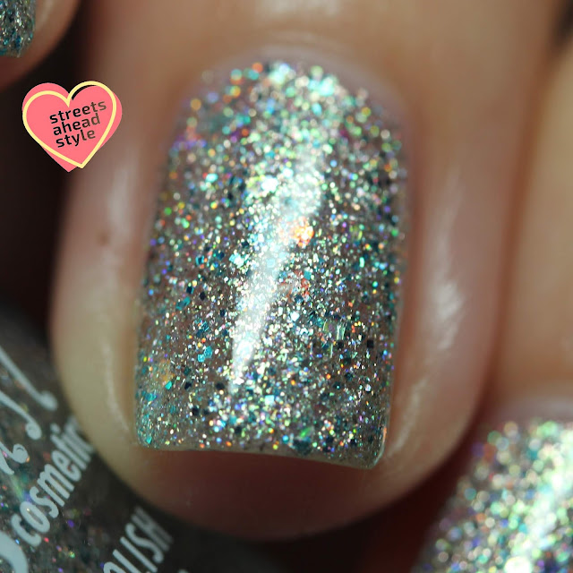 Girly Bits Cosmetics Dime and Dash swatch by Streets Ahead Style