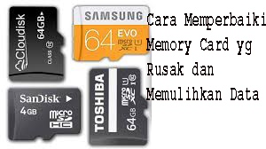 Cara Memperbaiki Memory Card yg Rusak dan Memulihkan Data 1