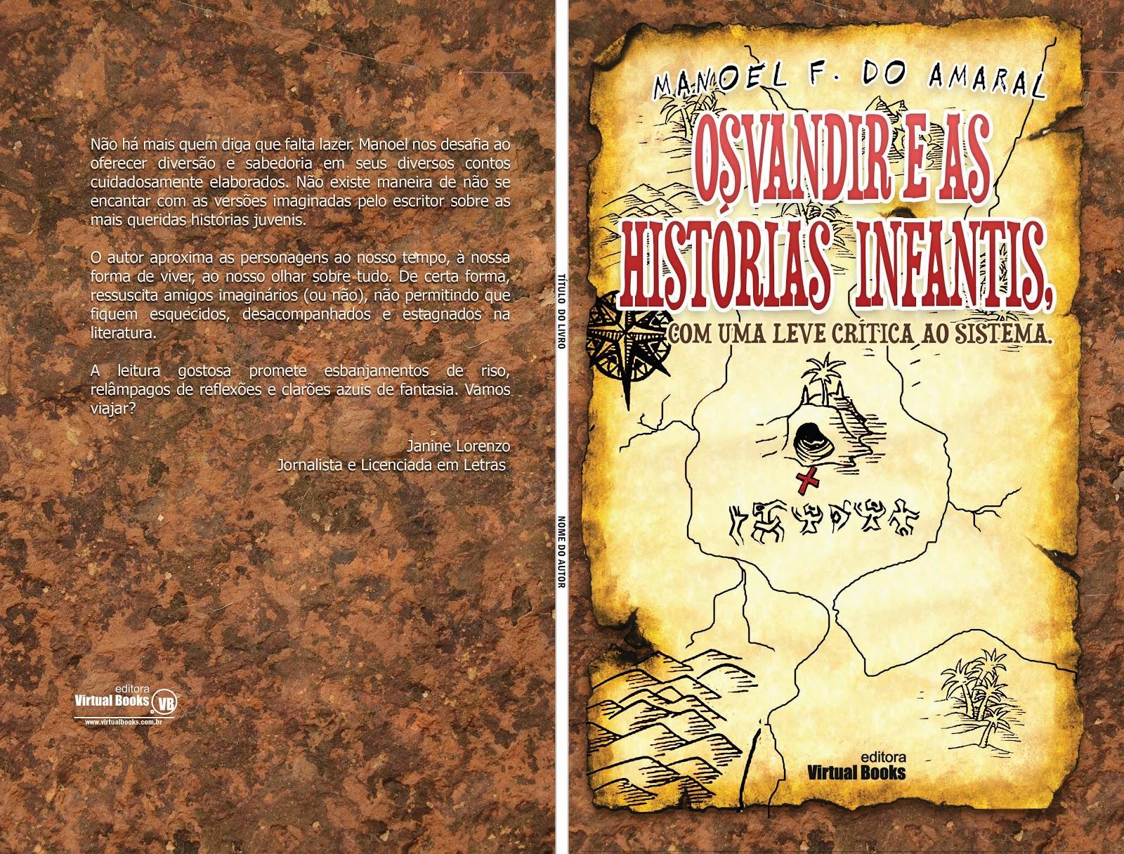 90eecce07 OSVANDIR - Literatura  Contos   Crônicas  2012