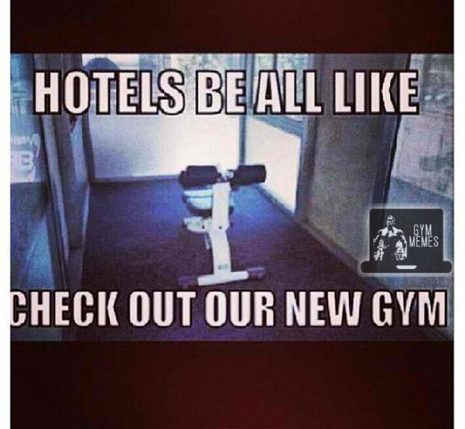 hotel gym fail
